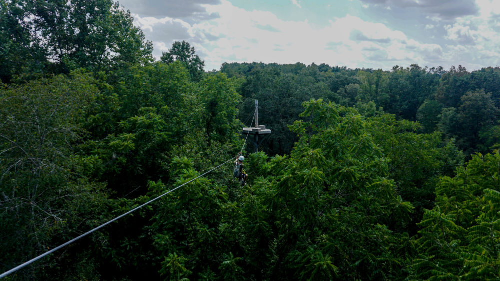 Canaan Zipline Canopy Tours - ropes course and tree top adventures in the Carolinas