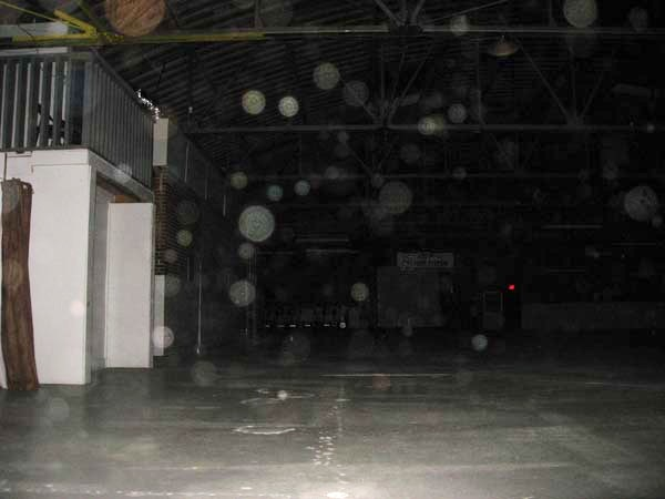 Orbs in pictures at Gribble House