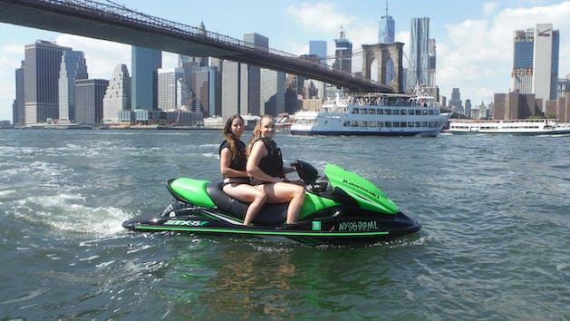 New York City Harbor + George Washington Bridge