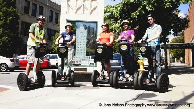 group of segwayers