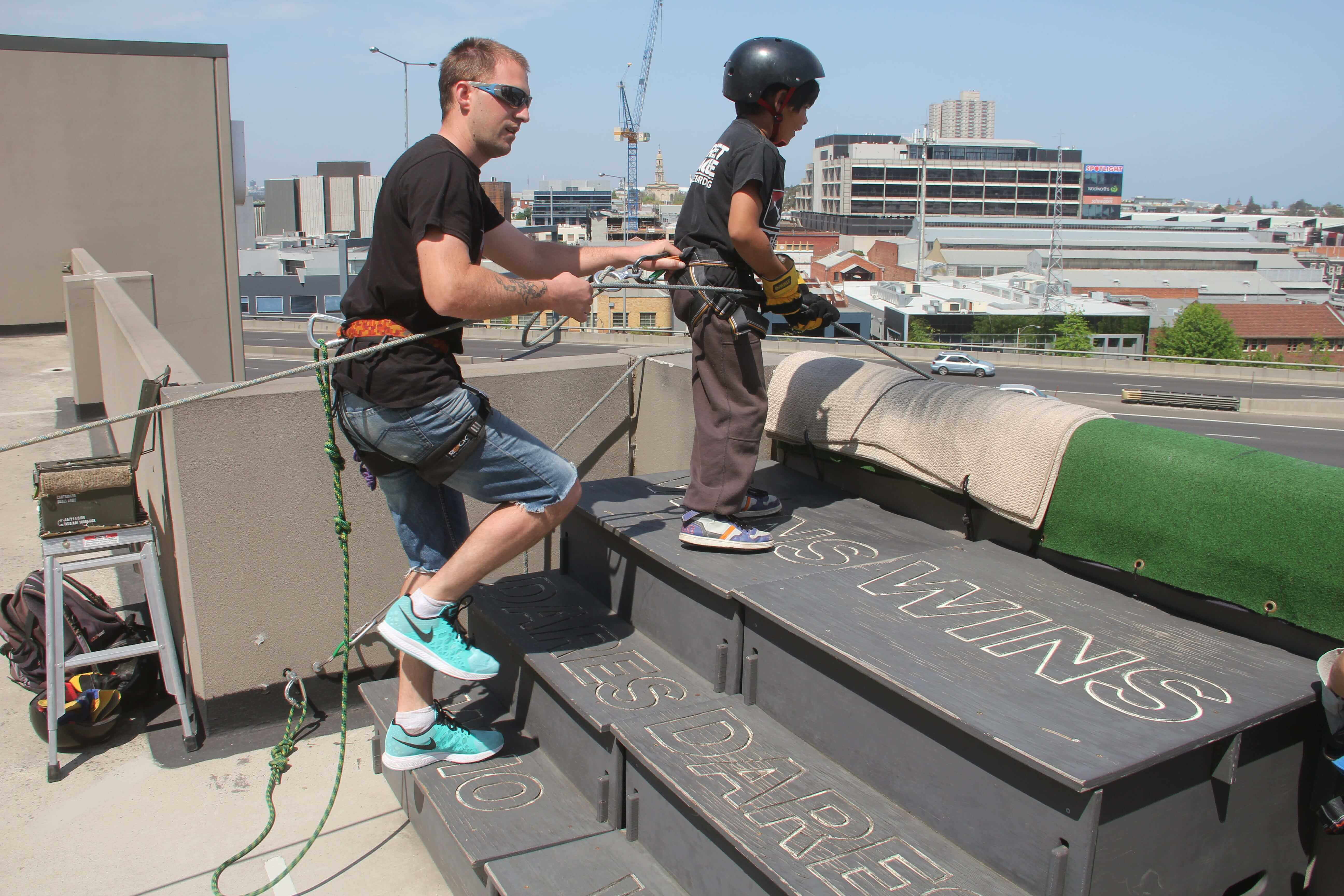 Abseiling Birthday Party Activities