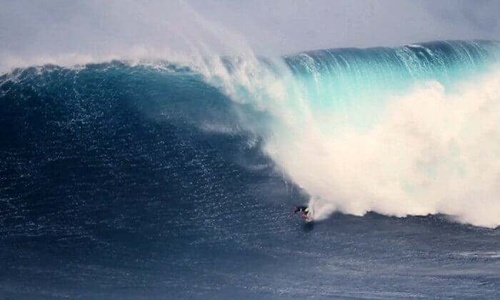 Hawaii's aptly named 'Jaws' is one of the deadliest waves out there.