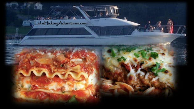 Italian Dinner Cruise collage
