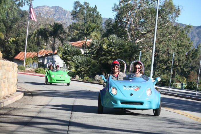 Sunnyday Scoot Best Sightseeing Tours In Los Angeles