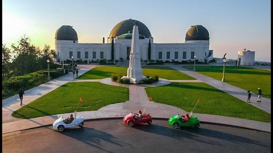 Best drive to Griffith Observatory