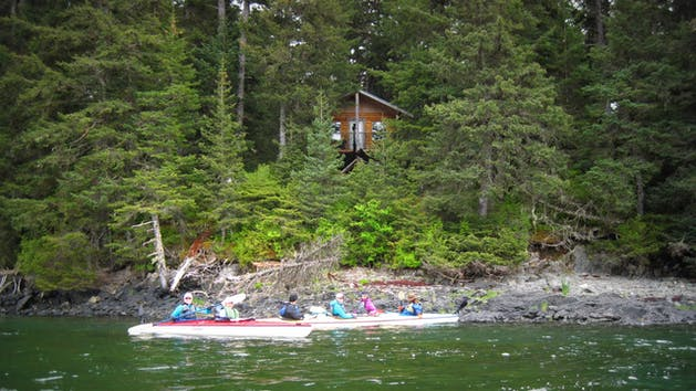 Island Cabin Rental in Kachemak Bay, Alaska
