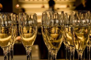 Sparkling Wine in Glasses