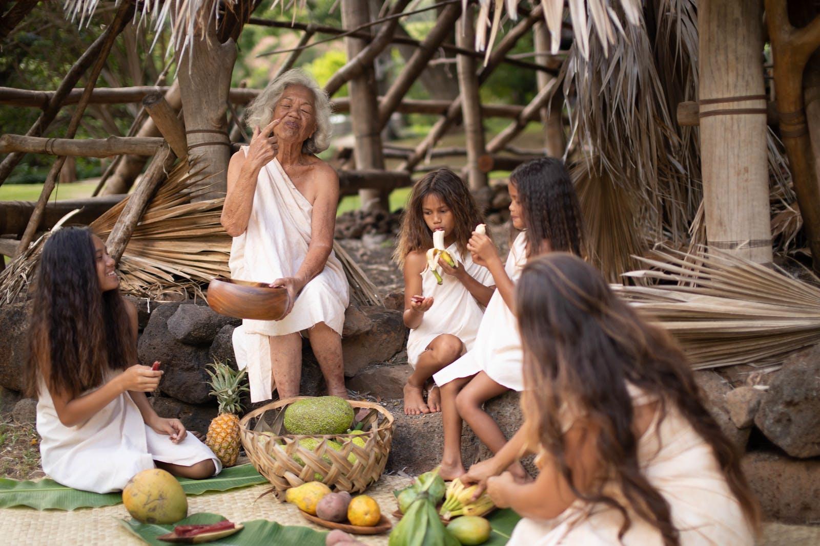 Native Hawaiian food