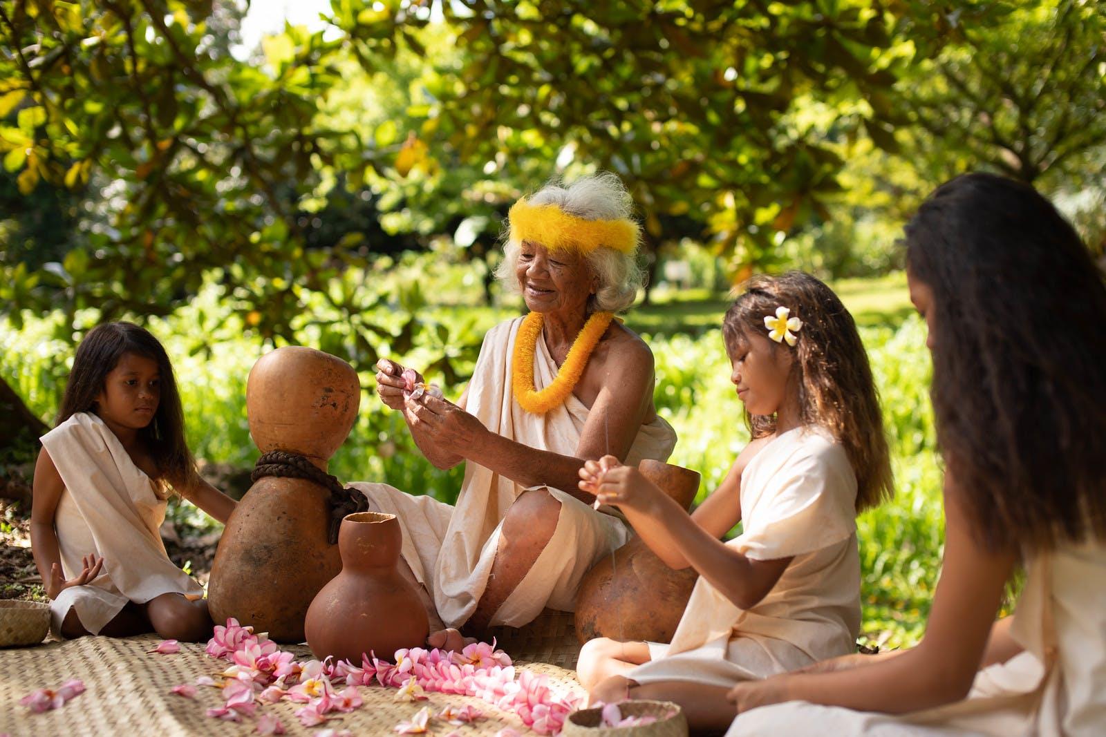 lei making kauai