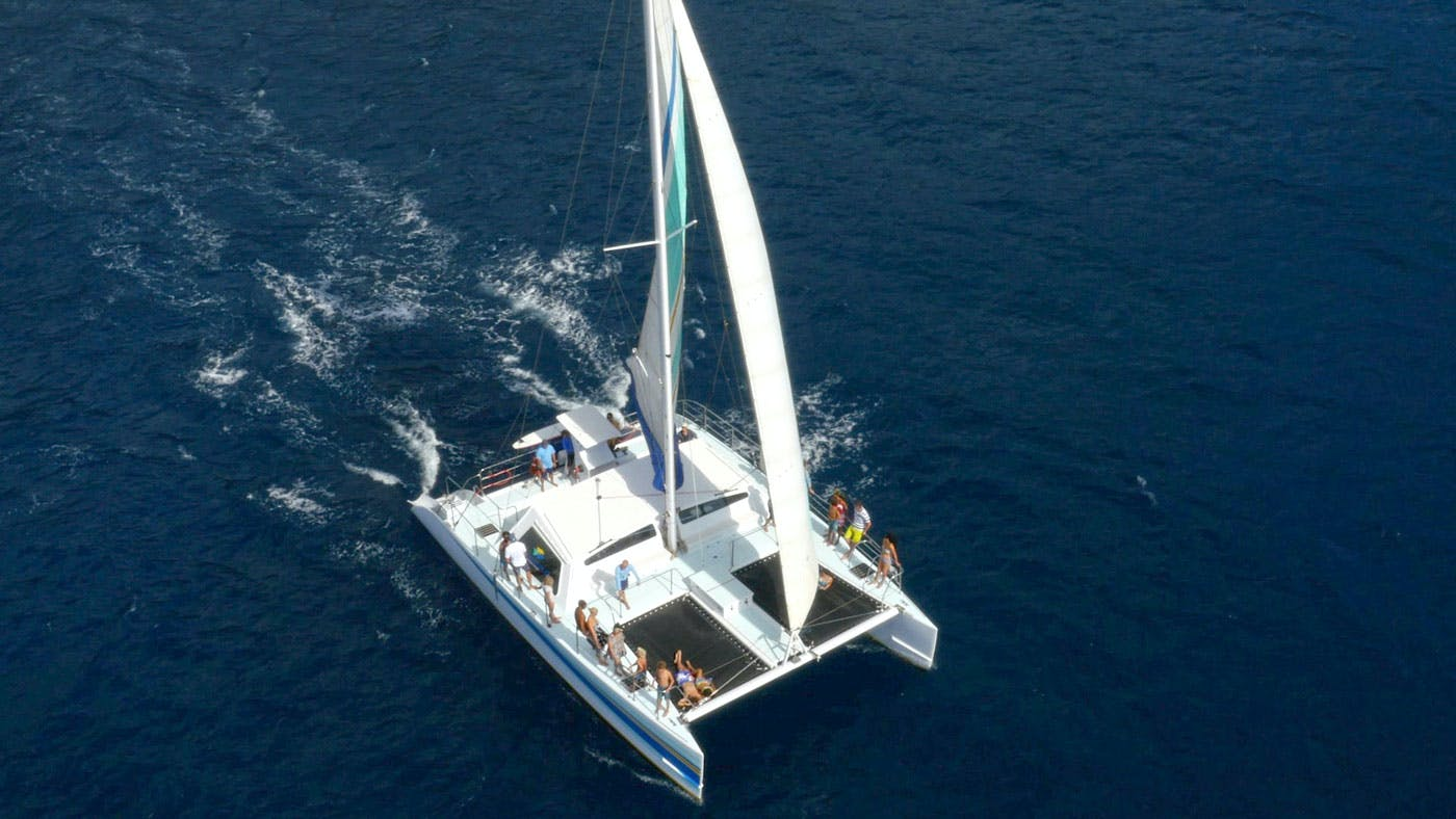 Kauai sailing catamaran