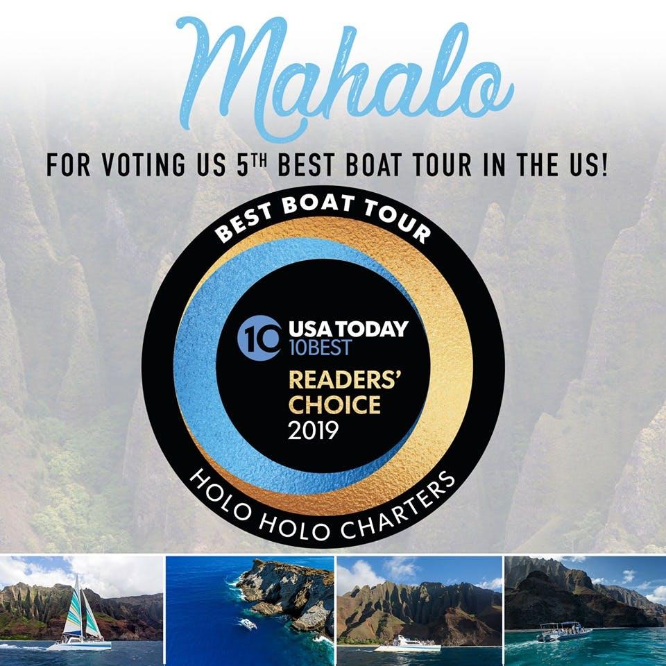 Best Kauai Boat Tour