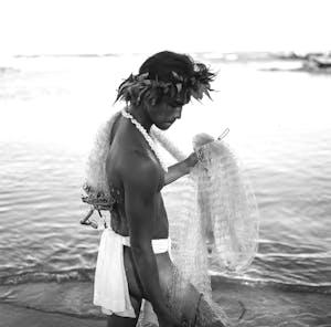 Kauai fishing net