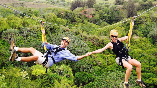 Princeville Ranch Adventures Zipline