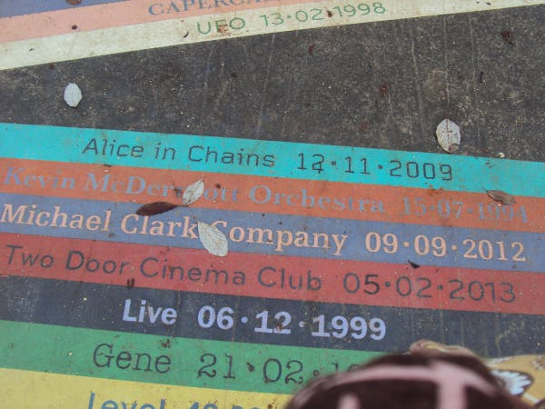 close up of the album pathway