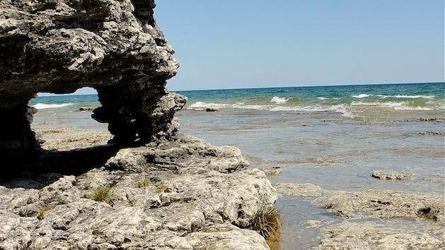 Cave Point Adventure Tour Door County Fun Packages