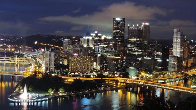 Pittsburgh city lights segway tour