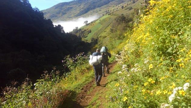 Trek in Guatemala