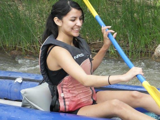 Kayak on Verde River