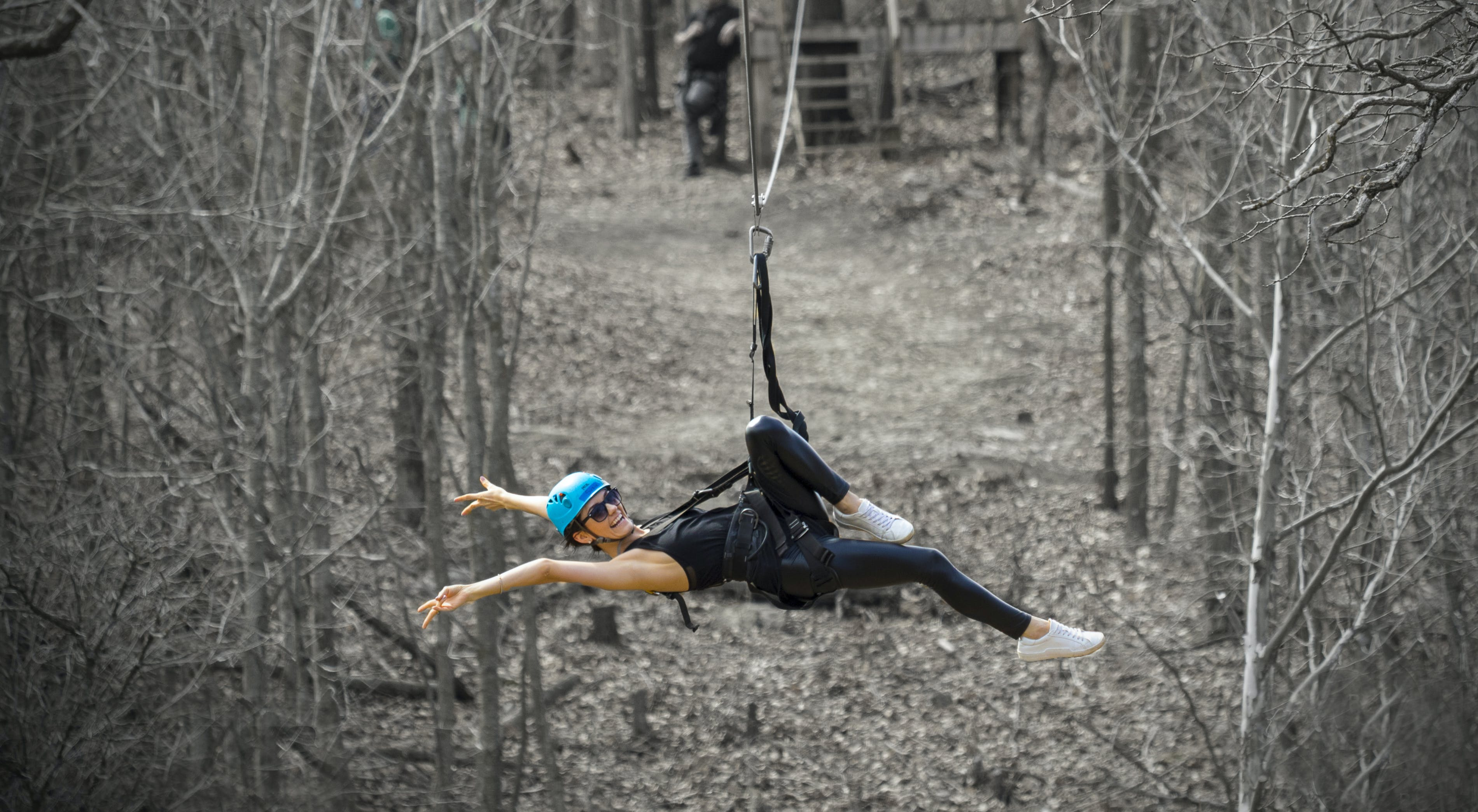 Backyard Zip Line Reviews zip kc zip line tours | ziplining near kansas city, ks