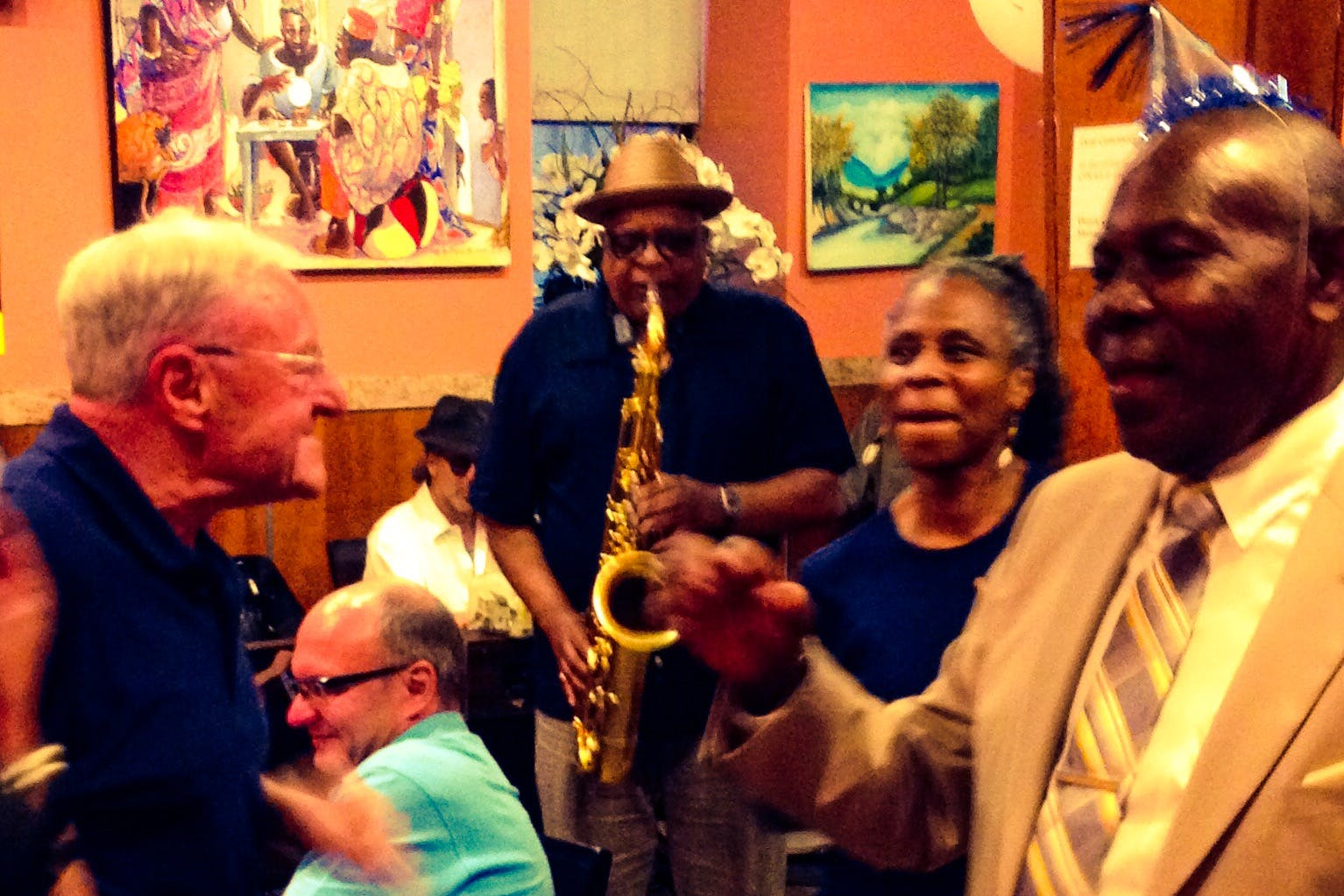 Soul Food Buffet Jam Session with Bill Saxton at the Jacob Restaurant