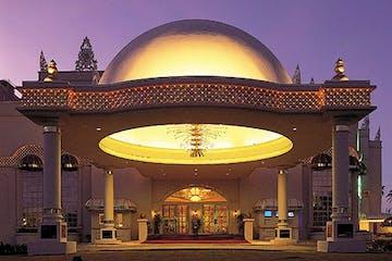 The SandCastle Guam theater in Tumon, Guam