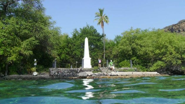 My Kona Adventures - Capt. Cook Monument