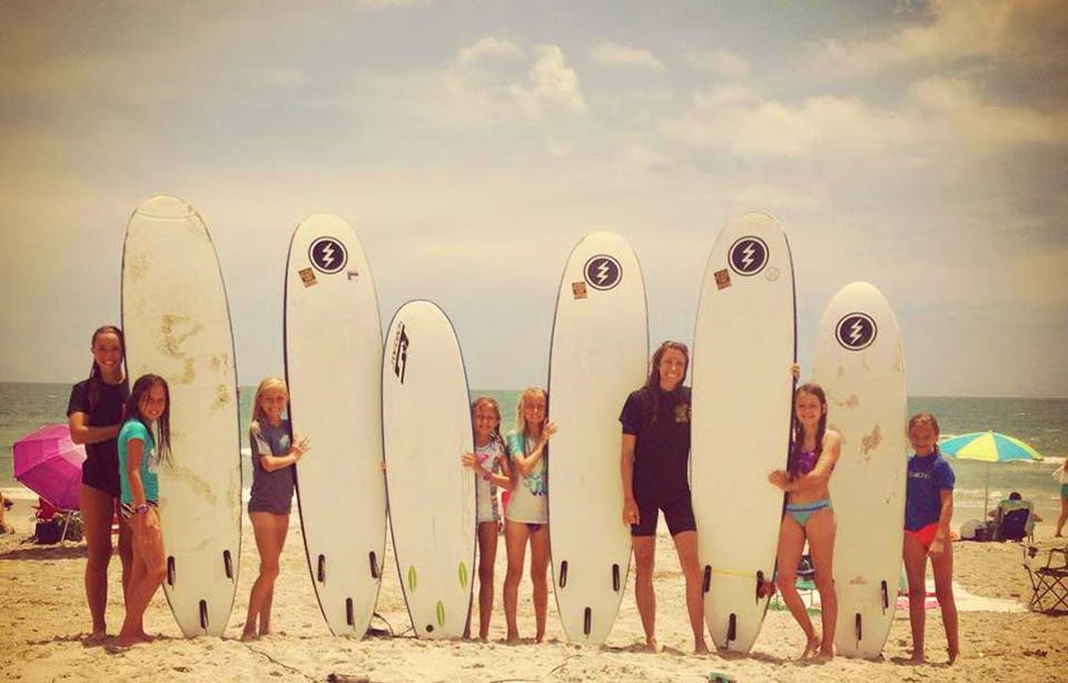 female surf instructor position sean s private surf instruction