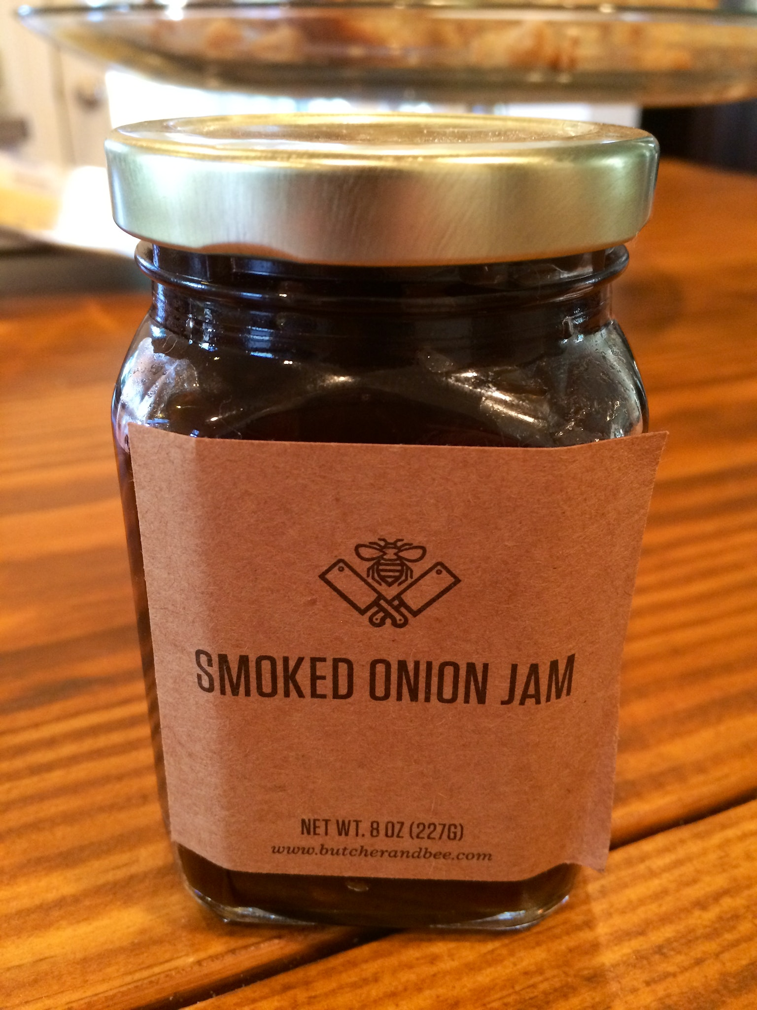 Smoked onion jam from Butcher & Bee