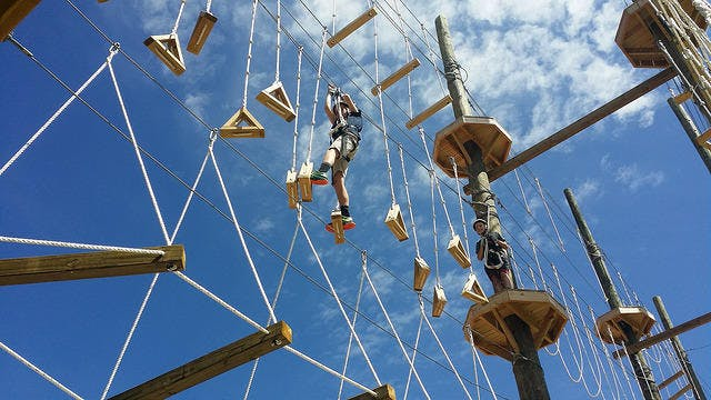 Rope Obstacle Course