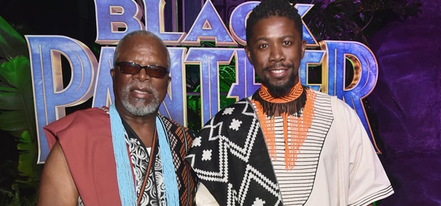father son black panther
