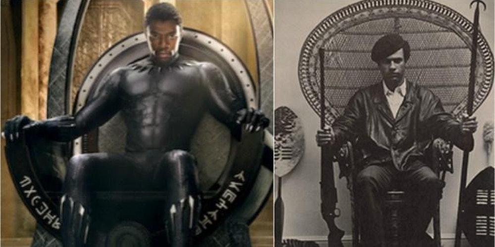 black panther Huey newton