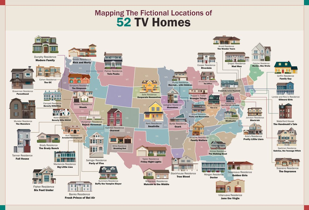 a map of TV homes across America