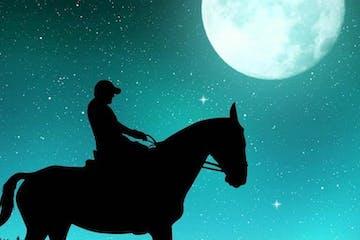 Horseback moonlight tours