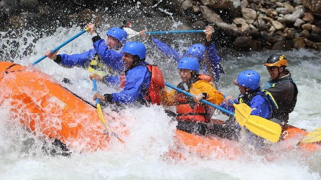 Upper Kern River Half-Day Class IV Whitewater Rafting Sierra South
