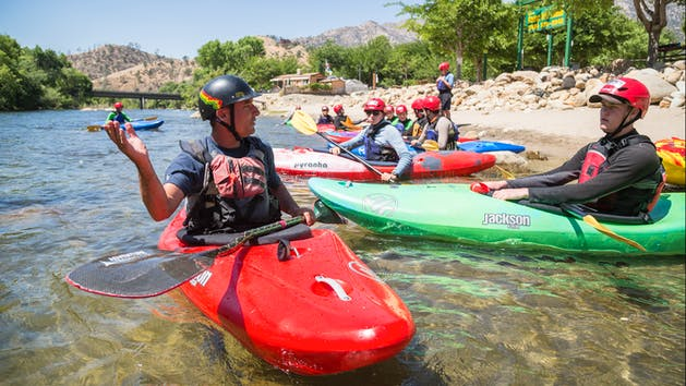 5 day immersion Kern River