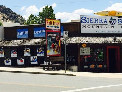 Sierra South Kayak Rentals California