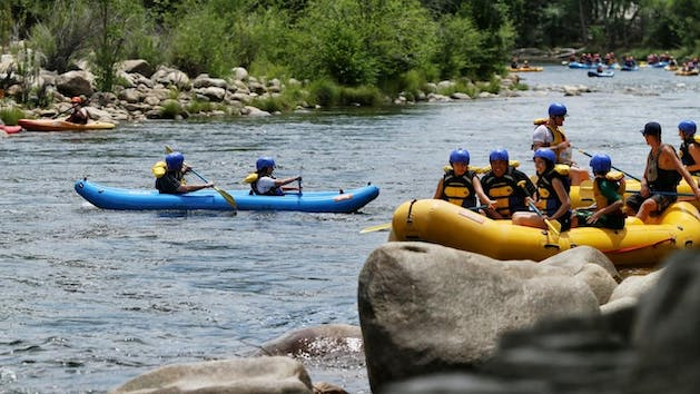 Kernville White Water Rafting