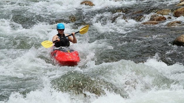 White Water Kayaking Southern California