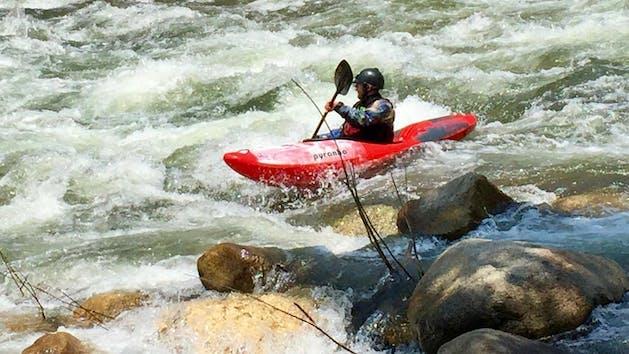 White Water Kayaking Southern California