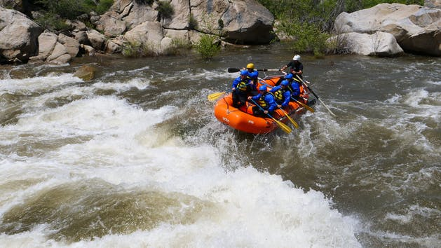 Sierra South Class V Rafting Kern River