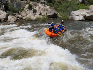 Sierra South Class V Rafting Kern River
