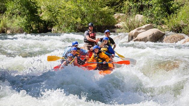 Sierra South Upper Kern Class V Rafting adventure