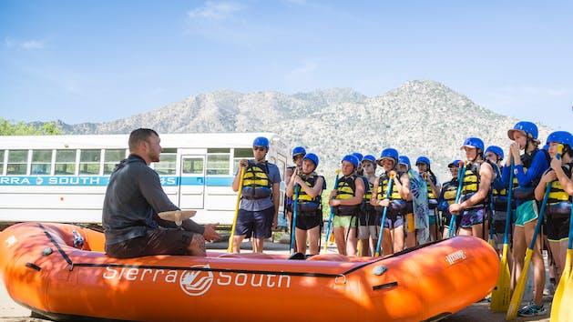 Sierra South ClassIl-lll Guide School Kern River
