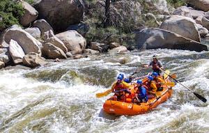 Lower Kern River Rafting Sierra South