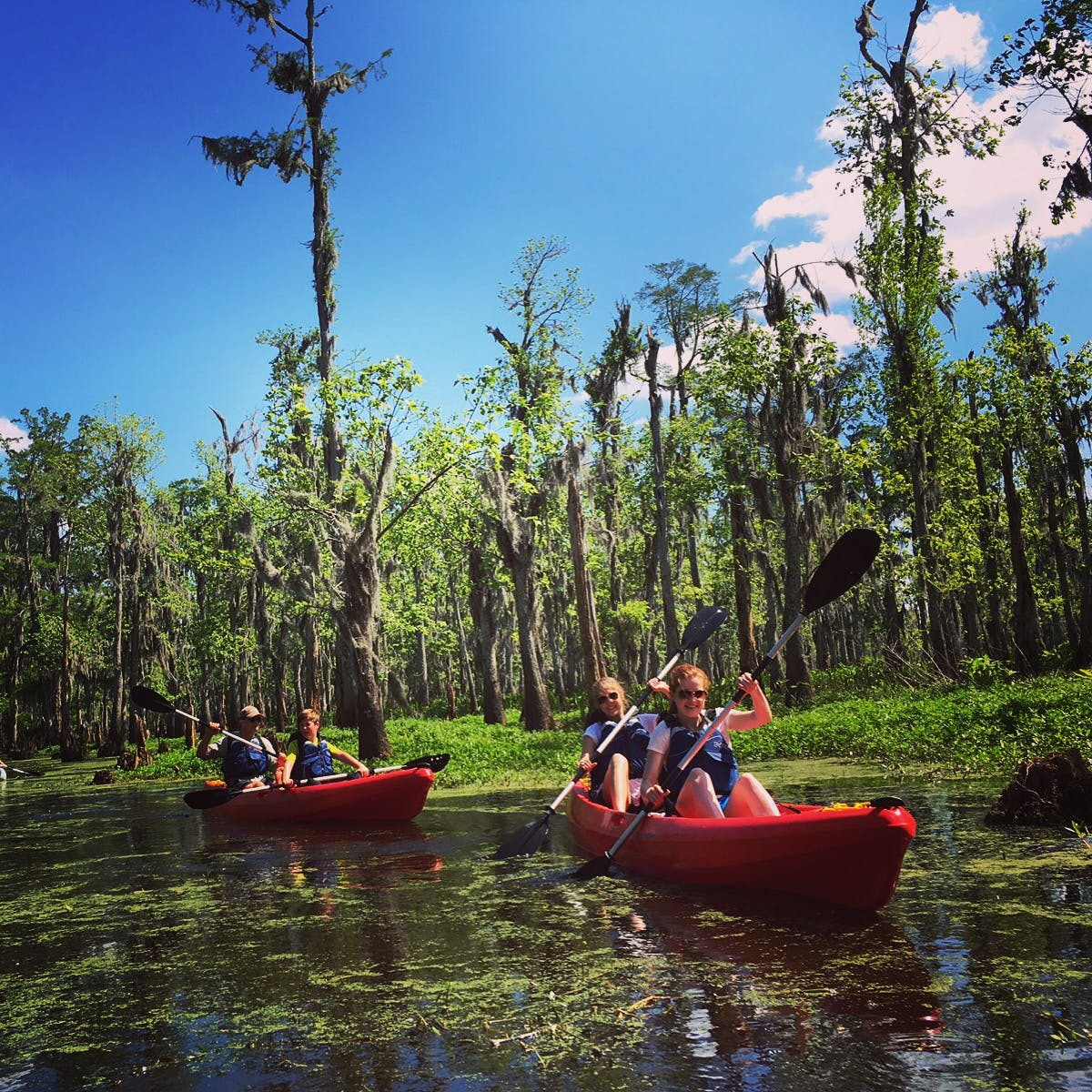 New Orleans Kayak Tours