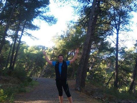 Man on Malaga Tour Running tour