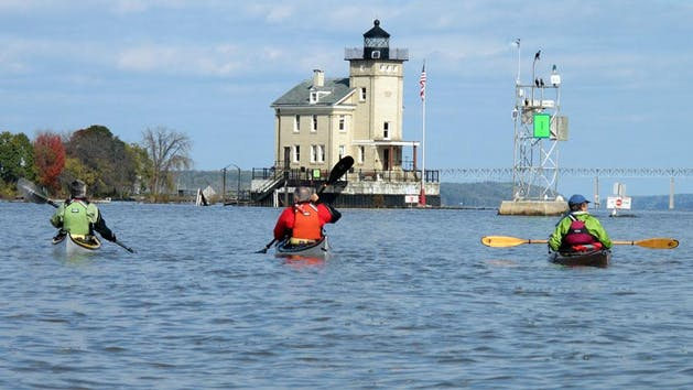 Norrie to Kingston paddling