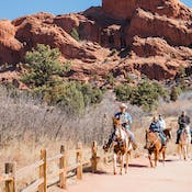 Garden Of The Gods Horseback Riding | Academy Riding Stables