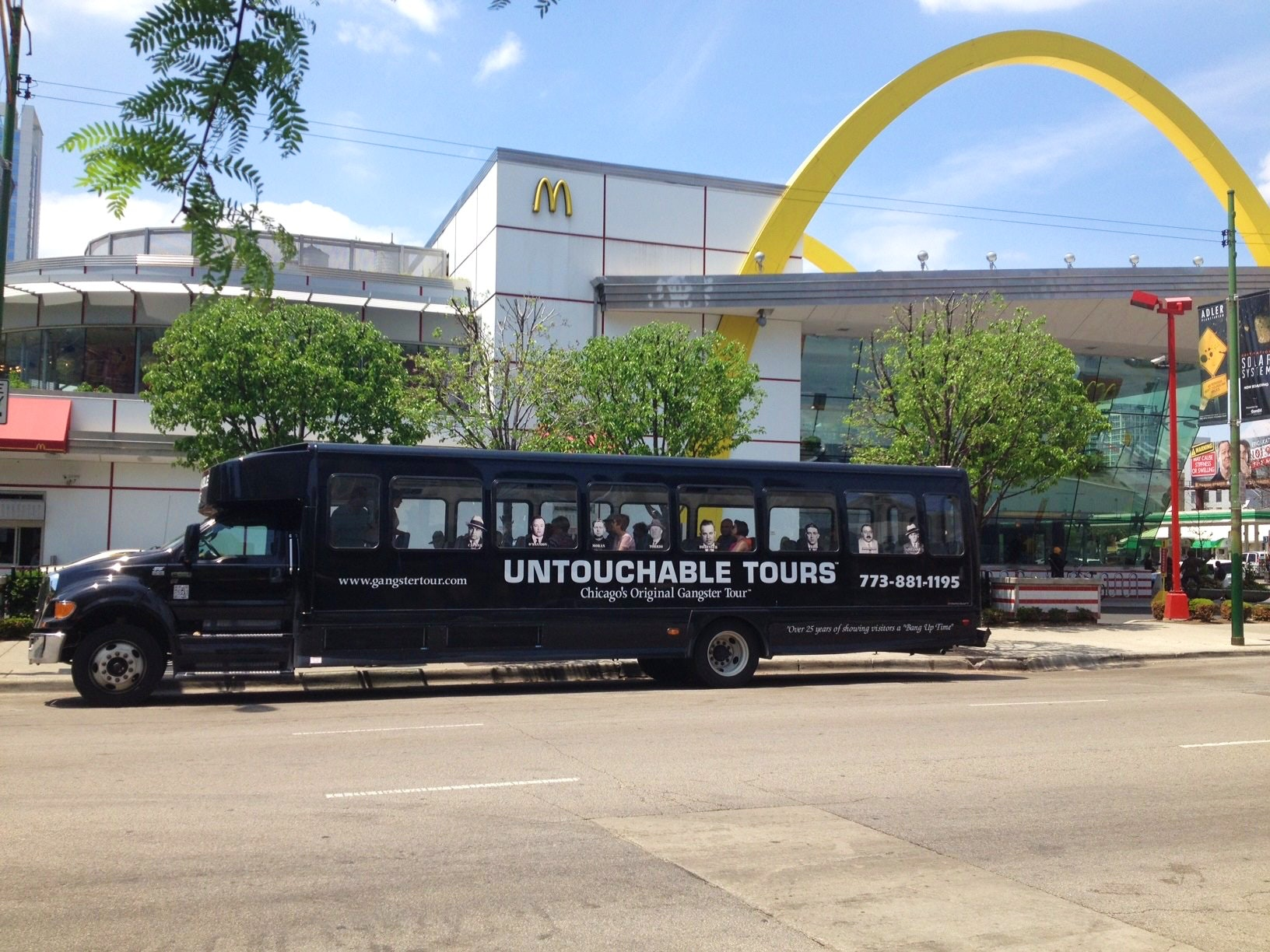 untouchable tours location