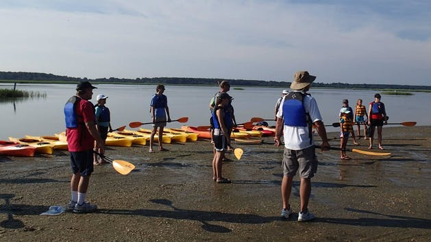 Kayaking Adventure At Huntington Beach